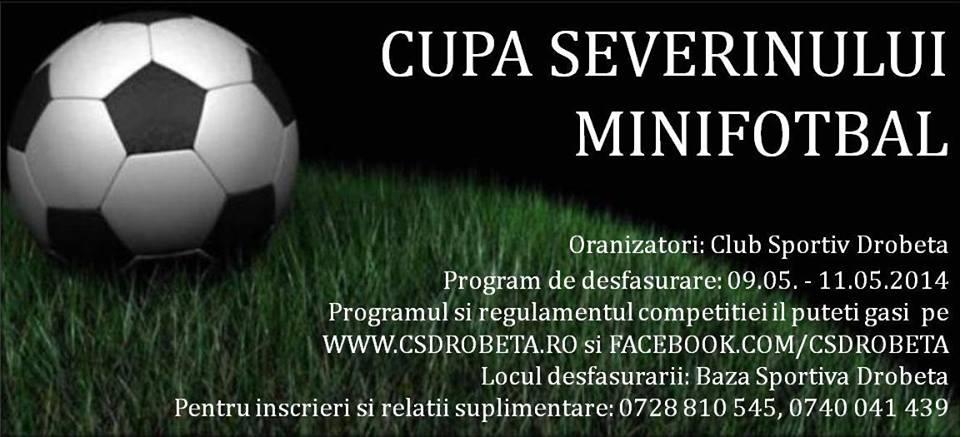 Cupa Severinului la Minifotbal